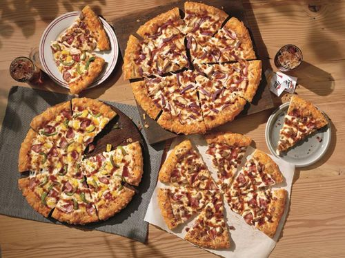 Picture of pizzas